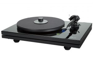 Music_Hall_mmf_5_3 - manuálny gramofón s audiofilským zvukom a jedinečným dvoj-soklovým dizajnom