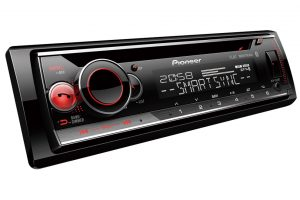 Pioneer_DEH_S520BT autorádio s CD mechanikou, Bluetooth a USB/AUX vstupom