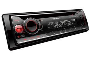 Pioneer_DEH_S520BT autorádio s CD mechanikou, Bluetooth a USB/AUX vstupom