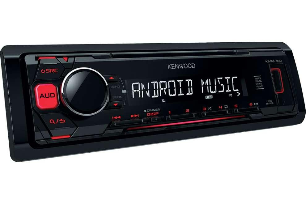 Kenwood KMM-102GY USB autoradio