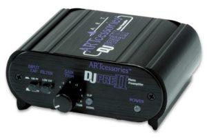 ART Pro Audio DJPRE II - gramofónový predzosilňovač pre MM prenosky