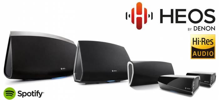 Denon uvádza sériu HEOS – bezdrôtový Multi-Room systém ozvučenia