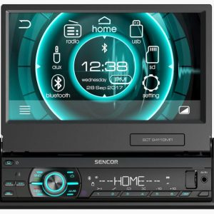 Sencor SCT 9411BMR 1-DIN Bluetooth, USB, SD, FM/AM rádio