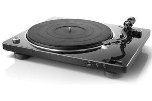 Denon DP-450 USB Black - poloautomatický gramofón s S-Shape ramienkom