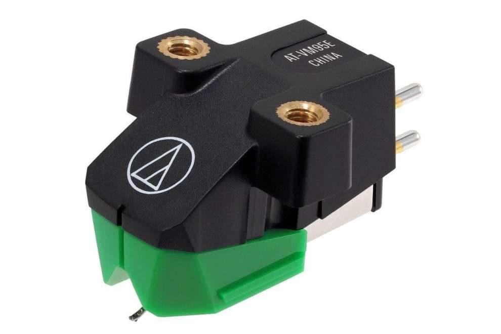 Audio-Technica AT95E - rear, MM prenoska s diamantovým eliptickým hrotom