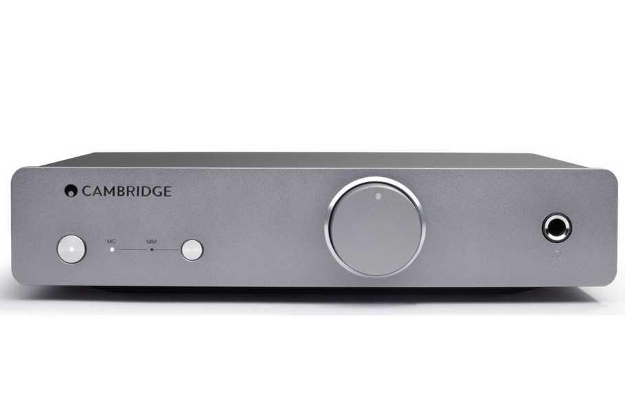 Cambridge Audio DUO je gramofónový predzosilňovač pre MM a MC prenosky kombinovaný so slúchadlovým zosilňovačom