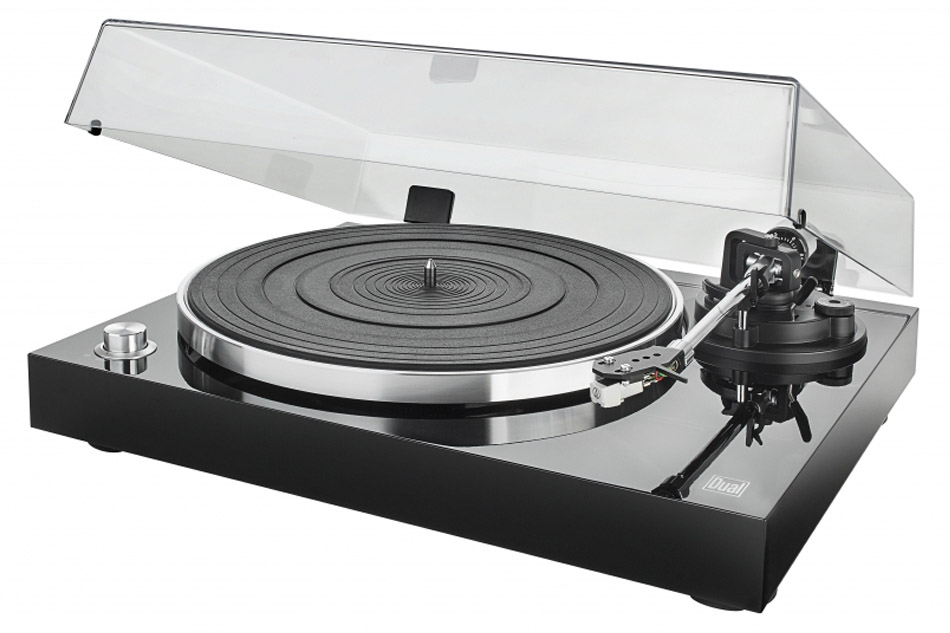 Dual_DT-500_USB Black - manuálny gramofón s USB portom
