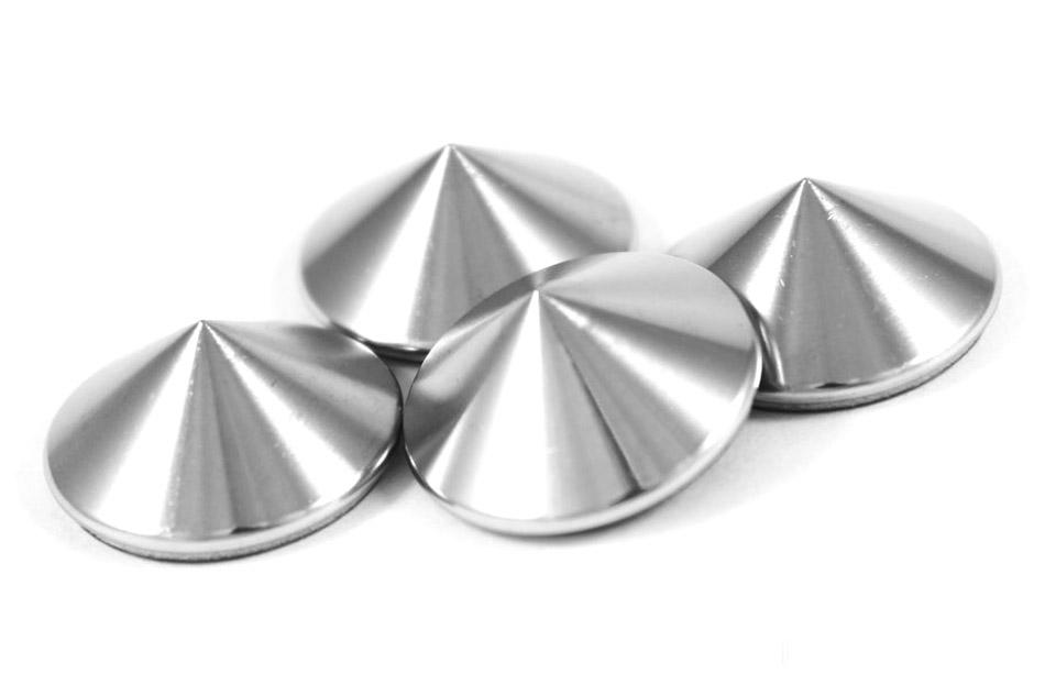 Lomic_s25s1 silver odhmotňovacie hroty pod reproduktory