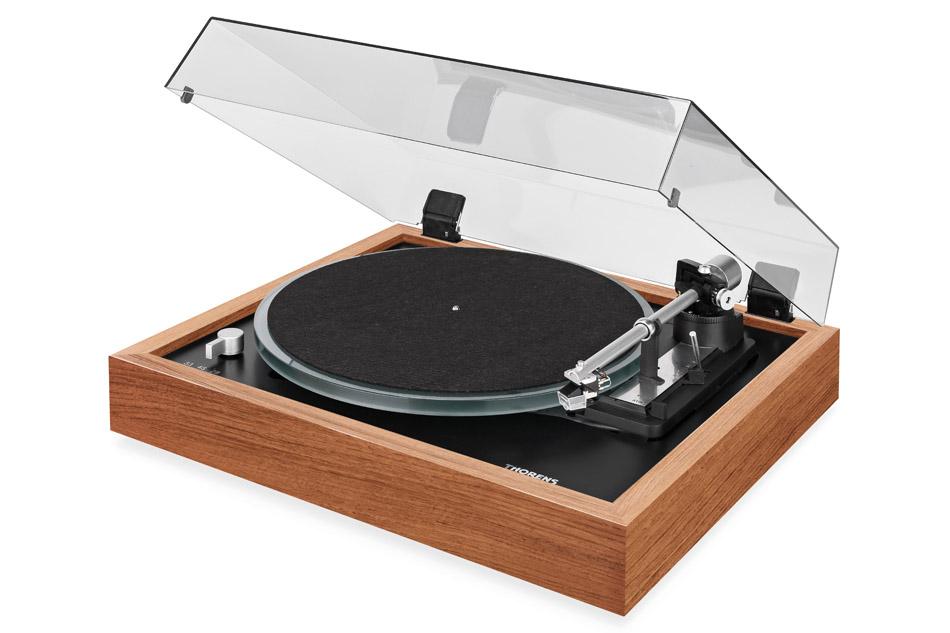 Thorens_TD_148_A Walnut - plne automatický hifi gramofón s remienkovým pohonom