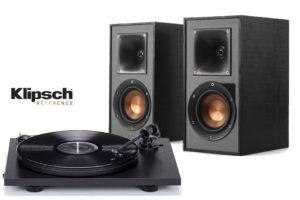 klipsch-r-41pm-pro-ject-primary-pack-set set gramofónu a reproduktorov