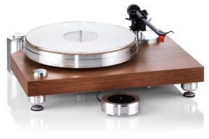 Acoustic_Solid_Classic_Wood gramofón s digitálnym prepínaním otáčok