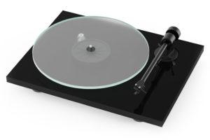 Pro_Ject_T1_BT gramofón s predzosilňovačom, bluetooth a manuálnym prepínaním otáčok