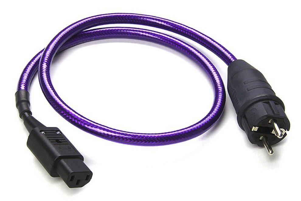 Chord_purple_power_eu napájací sieťový kábel