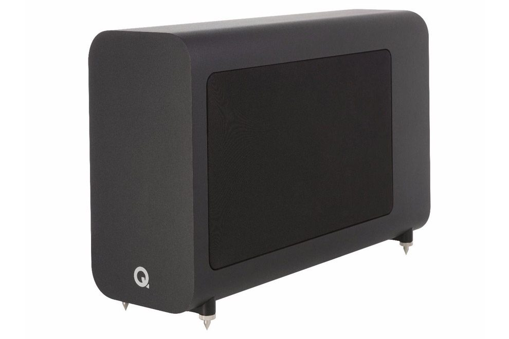 Q_Acoustics_3060s aktívny slim subwoofer so zosilňovačom triedy D s výkonom 150W