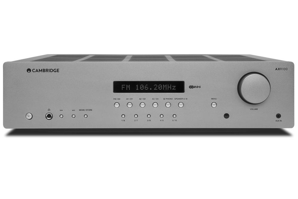 Cambridge_Audio_AXR100 stereo receiver s FM/AM tunerom s RDS