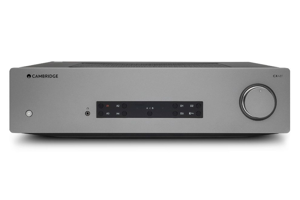 Cambridge_Audio_CXA81 integrovaný stereo zosilňovač s d/a prevodníkom a bluetooth modulom