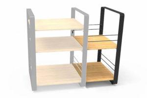 Norstone_loft_side modul pre uloženie LP vinylov k stolíku Loft Central
