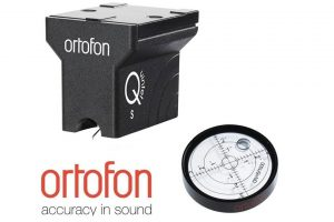 Ortofon Quintet Black + Ortofon Bubble Level - MC prenoska + vodováha