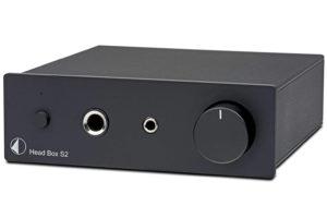 Pro-Ject Head Box S2 black - slúchadlový zosilňovač