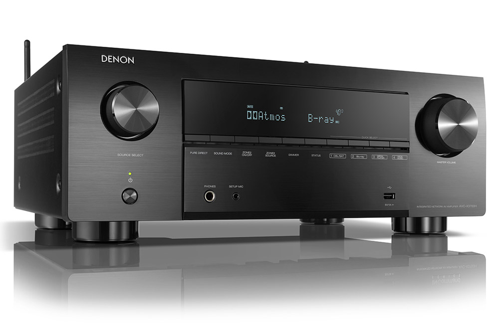 Denon_AVC_X3700H 9.2 kanálový AV receiver s 8K/60Hz