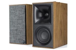 Klipsch_TheFives 2-pásmové aktívne regálové stereo reproduktory