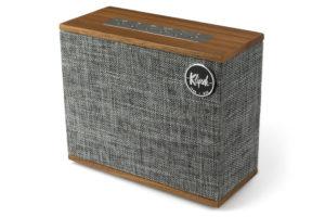 Klipsch_Heritage_Groove drobný bezdrôtový reproduktor s bluetooth streamovaním hudby a výdržou batérie až 8 hodín