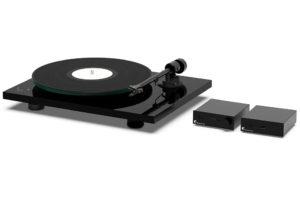 Pro_Ject_Set_Best_Of_Both_Worlds set manuálneho gramofónu s elektronickým riadením otáčok, integrovaného zosilňovača a streamera