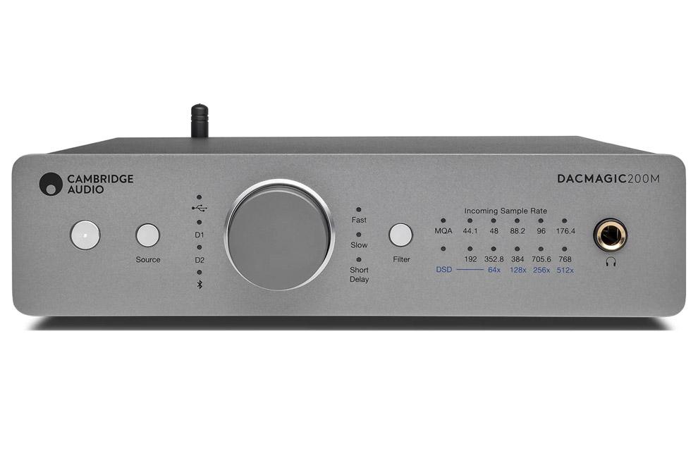 Cambridge_Audio_DacMagic_200M DAC prevodník so slúchadlovým zosilňovačom tried A/B, podporou Bluetooth a prehrávaním MQA súborov vo vysokom rozlíšení