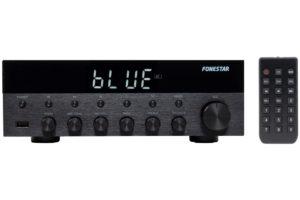 Fonestar_AS_1515 stereo receiver s integrovanm USB vstupom, FM tunerom a podporou Bluetooth