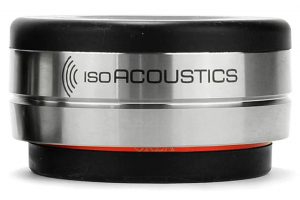 IsoAcoustics_OREA_Bordeaux - antirezonančné podložky pod HiFi elektroniku