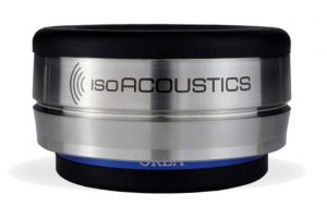 IsoAcoustics_OREA_Indigo - antirezonančné podložky pod HiFi elektroniku