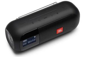 JBL_Tuner_2 prenosné Bluetooth FM/DAB/DAB+ rádio s charakteristickým zvJBL_Tuner_2 prenosné Bluetooth FM/DAB/DAB+ rádio s charakteristickým zvukom JBL Pro Soundukom JBL Pro Sound