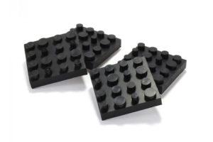 Dynavox_Antivibe_2 - set 4ks gumených antivibračných podložiek pod reproduktory a Hi-Fi komponenty