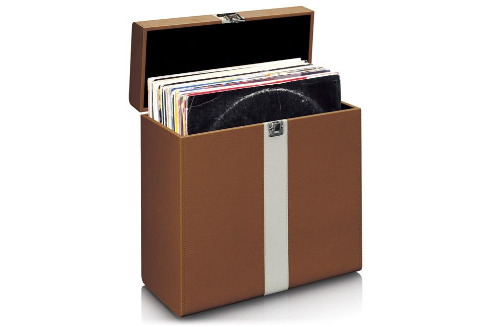 Lenco_TTA_301 - praktický kufor na odkladanie a transport vinylových LP platní