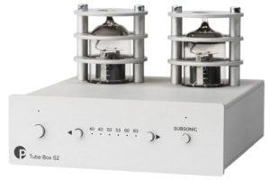 Pro-Ject_Tube_Box_S2 - elektrónkový zosilňovač pre MM a MC prenosky