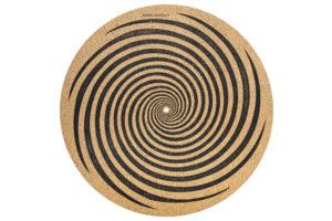 Audio_Anatomy_Cork_Slipmat_Spiral - kvalitná korková podložka na gramofón