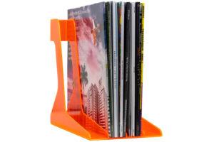 """Audio_Anatomy_Record_Stand - praktický stojan pre až 40ks 12"""" LP platní"""