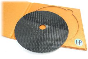 HTP_Carbon_Fiber_CD_Stabilizer - stabilizátor z uhlíkových vlákien určený pre CD prehrávače
