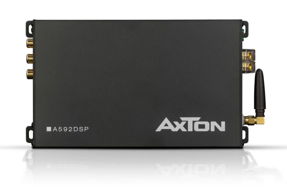 Axton-A592DSP - 4kanálový DSP zosilňovač do auta s podporou Bluetooth streamingu hudby