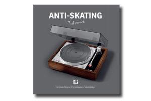 HTP-anti-skating-test-record - zrkadlová platňa bez drážok pre presné nastavenie kompenzačnej sily