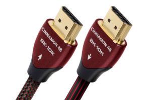 Audioquest-HDMI-Cinnamon-48 - kvalitný digitálny HDMI 2.1 kábel s rýchlosťou prenosu až 48Gbps