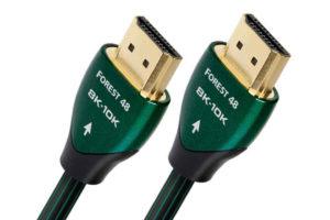 Audioquest-HDMI-Forest-48 - digitálny postriebrený HDMI kábel s rýchlosťou prenosu až 48Gbps