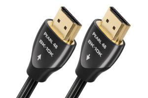 Audioquest-HDMI-Pearl-48 - digitálny HDMI 2.1 kábel s podporou videa až 10K a prenosovou rýchlosťou 48Gbps