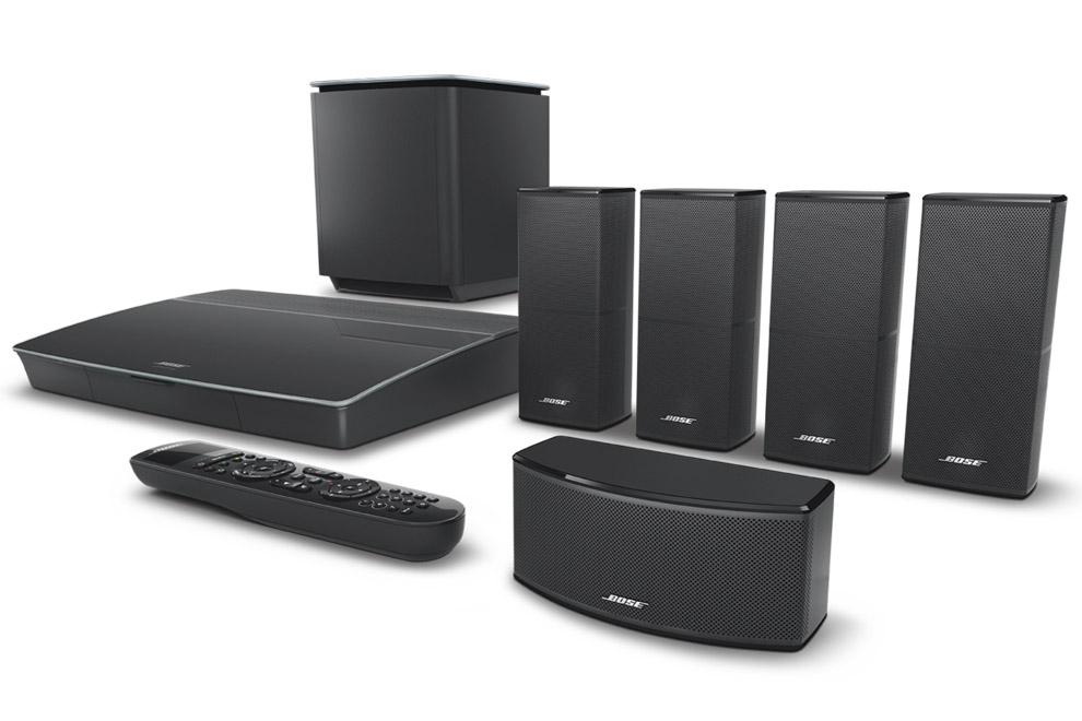 Bose-Lifestyle-600 - špičkový set 5.1 kompaktného domáceho kina