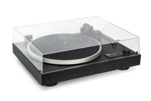 DUAL-CS-418 - kvalitný manuálny gramofón s predzosilňovačom a predinštalovanou prenoskou Ortofon 2M Red