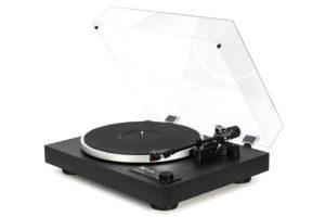 DUAL-CS-518 - špičkový manuálny gramofón s integrovaným predzosilňovačom a prenoskou Ortofon 2M Red