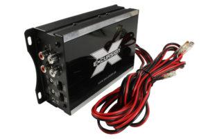 Excursion-SXA-45 - 4-kanálový, miniatúrny plne digitálny zosilňovač do auta s vysokým výkonom