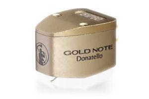 Gold-Note-Donatello-Gold - gramofónová MC prenoska s mikro eliptickým hrotom a nízkym výstupom