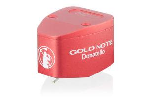 Gold-Note-Donatello - gramofónová MC prenoska s mikro eliptickým hrotom a vysokým výstupom