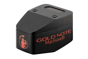 Gold-Note-Machiavelli-Red - špičková HiFI gramofónová MC prenoska s vysokým výstupom a mikro eliptickým hrotom